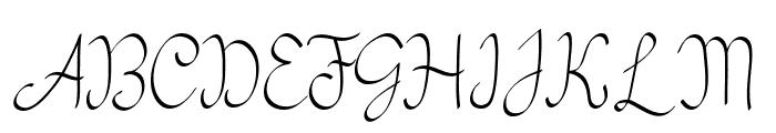 my mecca script Font UPPERCASE