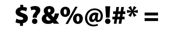 MyriadPro-Black Font OTHER CHARS