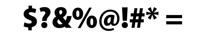 MyriadPro-BlackSemiCn Font OTHER CHARS