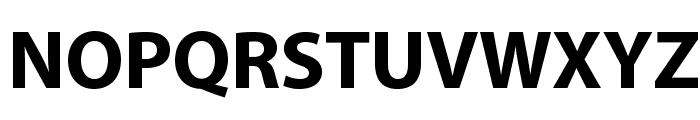 MyriadPro-Bold Font UPPERCASE