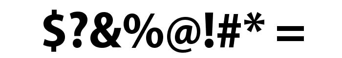 MyriadPro-BoldSemiCn Font OTHER CHARS