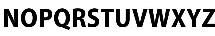 MyriadPro-BoldSemiCn Font UPPERCASE