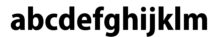 MyriadPro-BoldSemiCn Font LOWERCASE