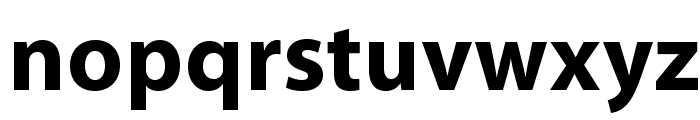 MyriadPro-Bold Font LOWERCASE