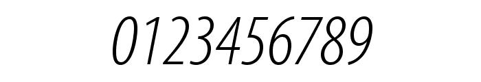 MyriadPro-LightCondIt Font OTHER CHARS