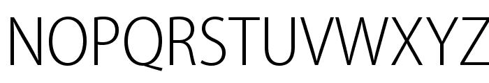 MyriadPro-LightSemiCn Font UPPERCASE