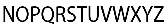 MyriadPro-SemiCn Font UPPERCASE