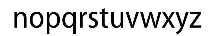 MyriadPro-SemiCn Font LOWERCASE