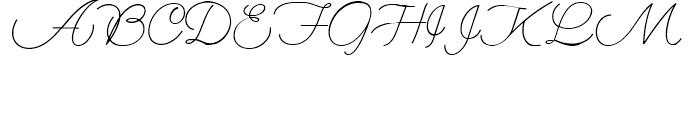 My Dear Watson NF Regular Font UPPERCASE