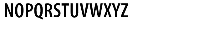 Myriad SemiBold Condensed Font UPPERCASE