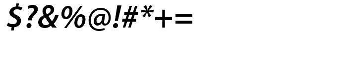 Myriad SemiBold Italic Font OTHER CHARS