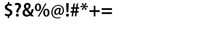 Myriad SemiBold Semi Condensed Font OTHER CHARS