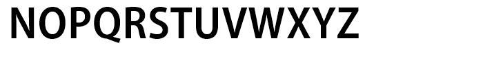 Myriad SemiBold Semi Condensed Font UPPERCASE