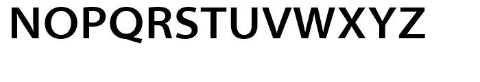 Myriad SemiBold Semi Extended Font UPPERCASE