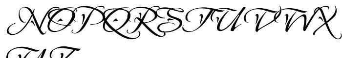 Mysoul One ROB Font UPPERCASE