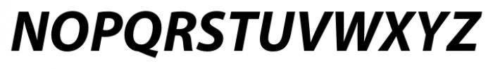 Myriad� Hebrew Bold Italic Font UPPERCASE
