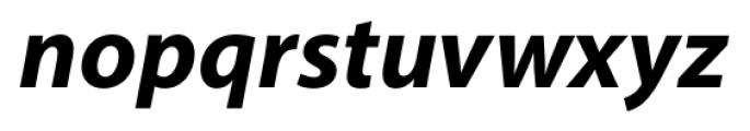 Myriad� Hebrew Bold Italic Font LOWERCASE