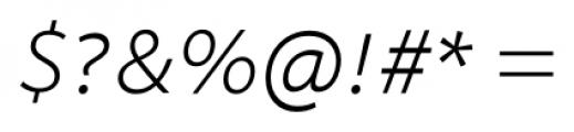 Myriad� Hebrew Light Italic Font OTHER CHARS