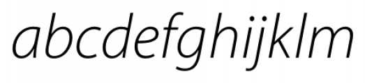 Myriad� Hebrew Light Italic Font LOWERCASE