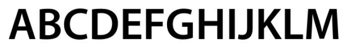Myriad� Hebrew Semi Bold Font UPPERCASE