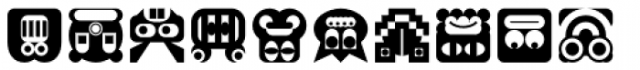 My Face Font UPPERCASE