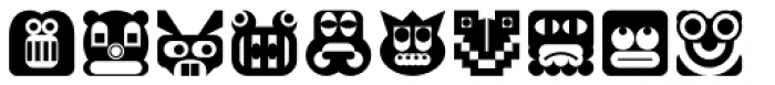 My Face Font LOWERCASE