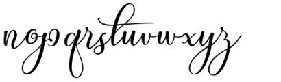My Sister Regular Font LOWERCASE
