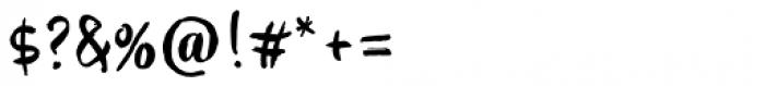 My Tara Regular Font OTHER CHARS