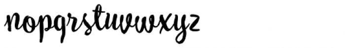 My Tara Regular Font LOWERCASE