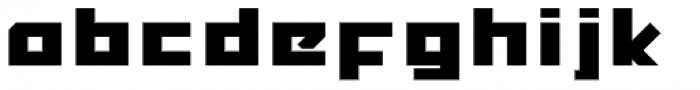 MyCRFT Bold Font LOWERCASE