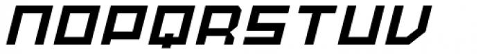 MyCRFT Italic Font UPPERCASE