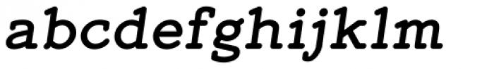 Mymra Forte Bold Italic Font LOWERCASE