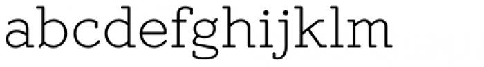 Mymra Light Font LOWERCASE
