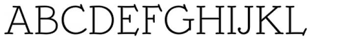 Mymra Piano Light Font UPPERCASE