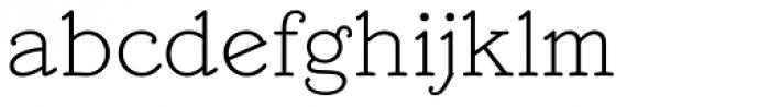Mymra Piano Light Font LOWERCASE