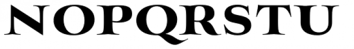 Mynaruse Heavy Font UPPERCASE