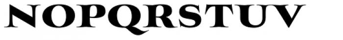 Mynaruse Heavy Font LOWERCASE