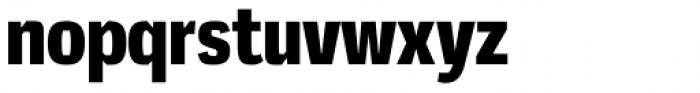 Mynor Black Condensed Font LOWERCASE