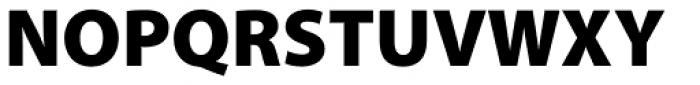 Myriad Pro Black Font UPPERCASE