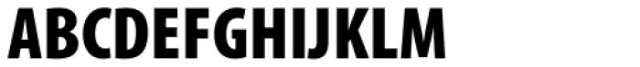 Myriad Pro Cond Black Font UPPERCASE