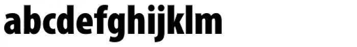 Myriad Pro Cond Black Font LOWERCASE