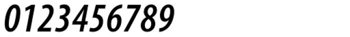 Myriad Pro Cond SemiBold Italic Font OTHER CHARS