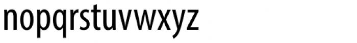 Myriad Pro Cond Font LOWERCASE