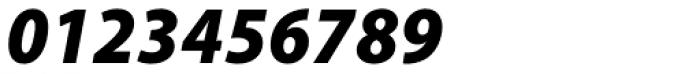 Myriad Pro SemiCond Black Italic Font OTHER CHARS