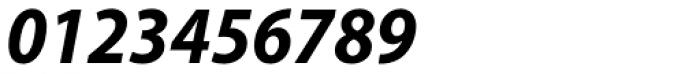 Myriad Pro SemiCond Bold Italic Font OTHER CHARS