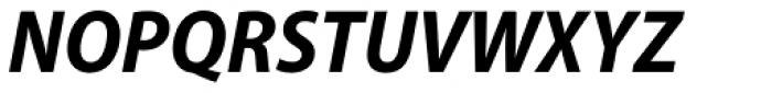 Myriad Pro SemiCond Bold Italic Font UPPERCASE