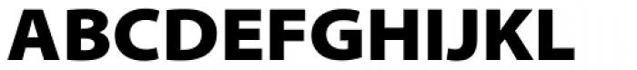 Myriad Pro SemiExt Black Font UPPERCASE