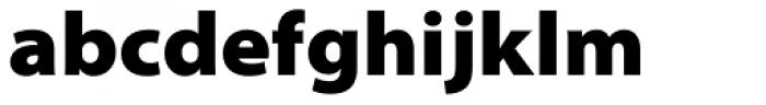 Myriad Pro SemiExt Black Font LOWERCASE