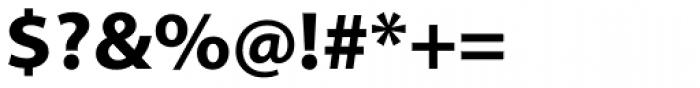 Myriad Pro SemiExt Bold Font OTHER CHARS