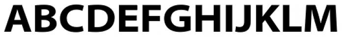Myriad Pro SemiExt Bold Font UPPERCASE